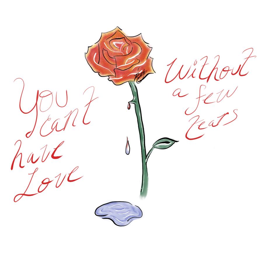 Valentine Tears by slvrhwks