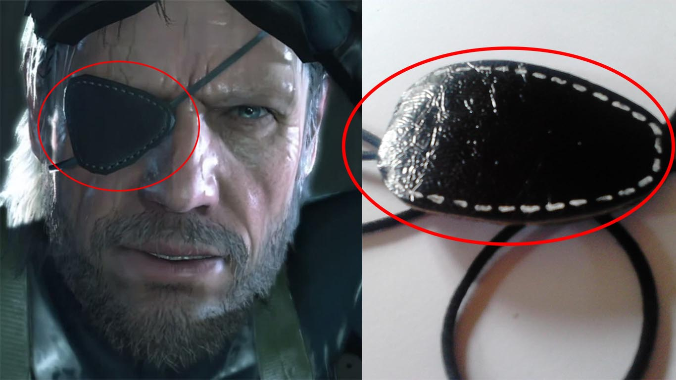how to make a leather eye patch