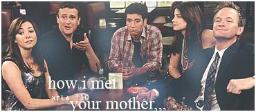 how i met your mother by xelagfx