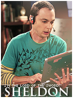 Sheldon Cooper by xelagfx