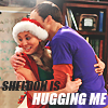 Sheldon is hugging me by xelagfx
