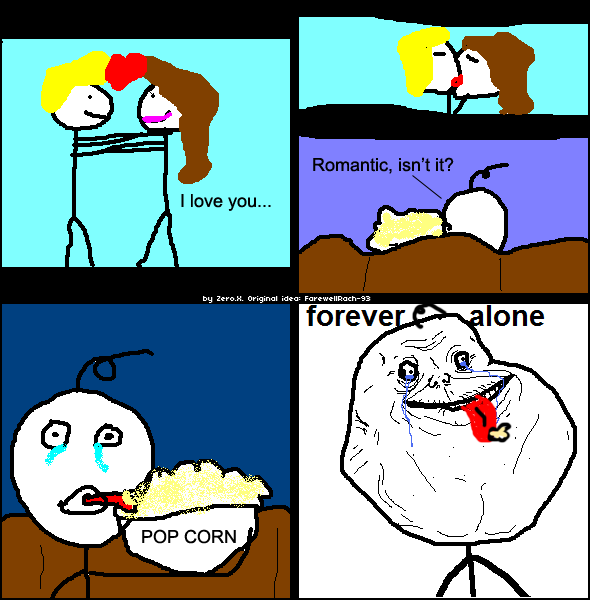 FOREVER ALONE by xelagfx ...