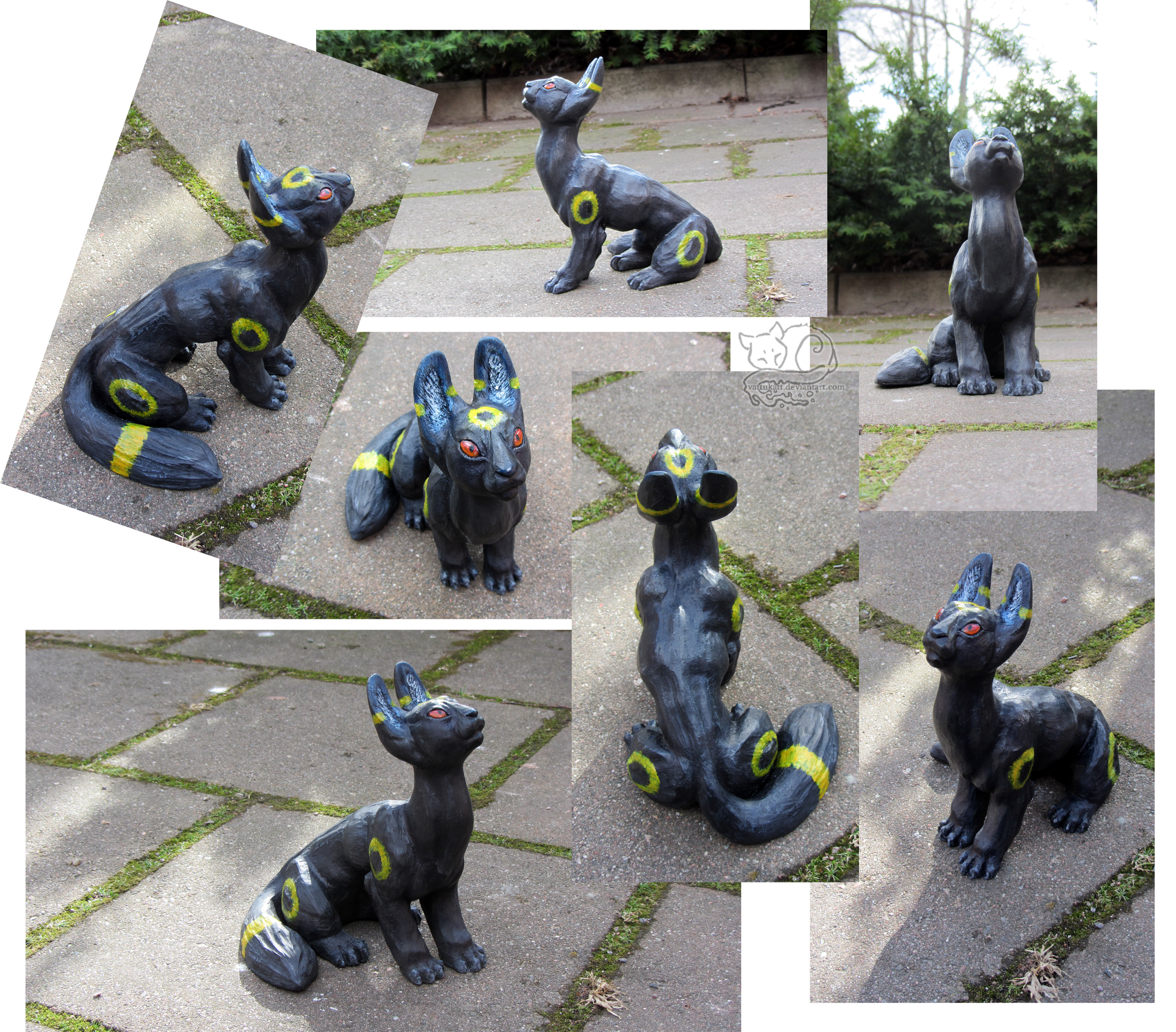 Umbreon sculpture by Vattukatt