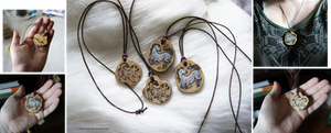From the Dust: pendants