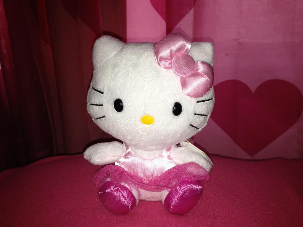 Simple Wallpaper Hello Kitty Bear - hello_kitty_ballerina_plush_by_hellokittygirl1988-d6nleed  Image_765927.jpg