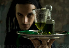 demon of absinth... by Lesta