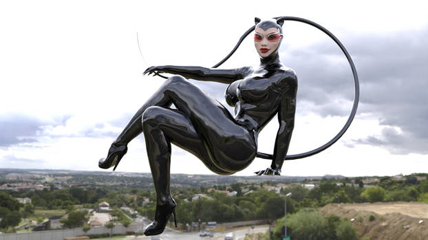 A Catwoman design