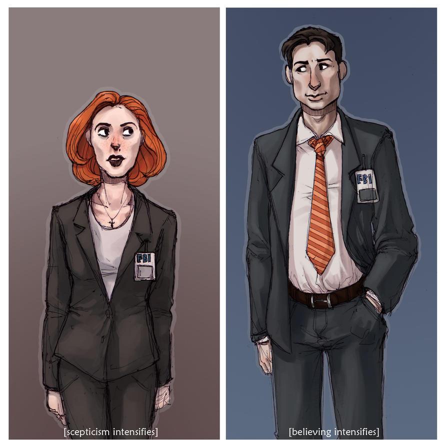 Mr n' Mrs Spooky by AriaDog