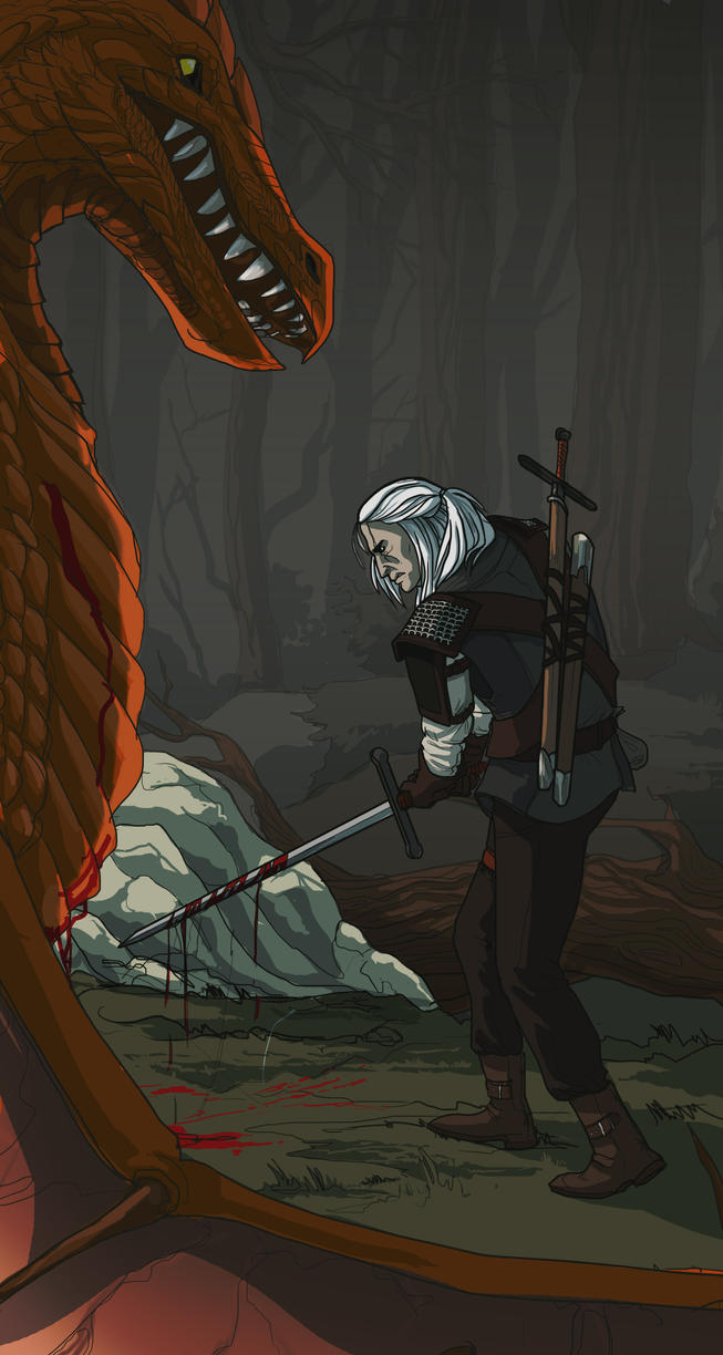 The Witcher by AriaDog