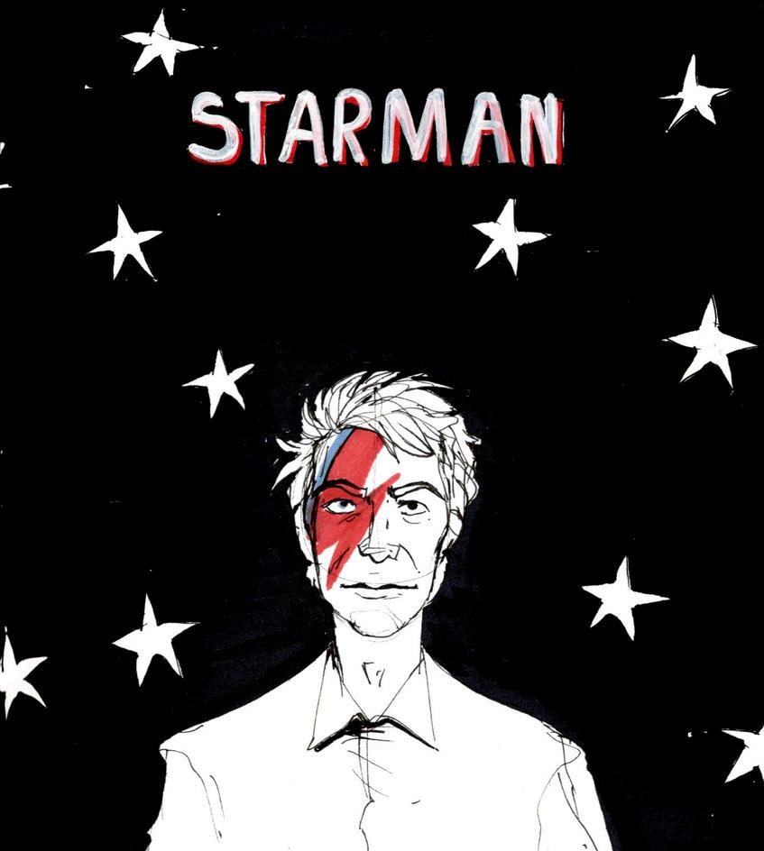 Starman by AriaDog