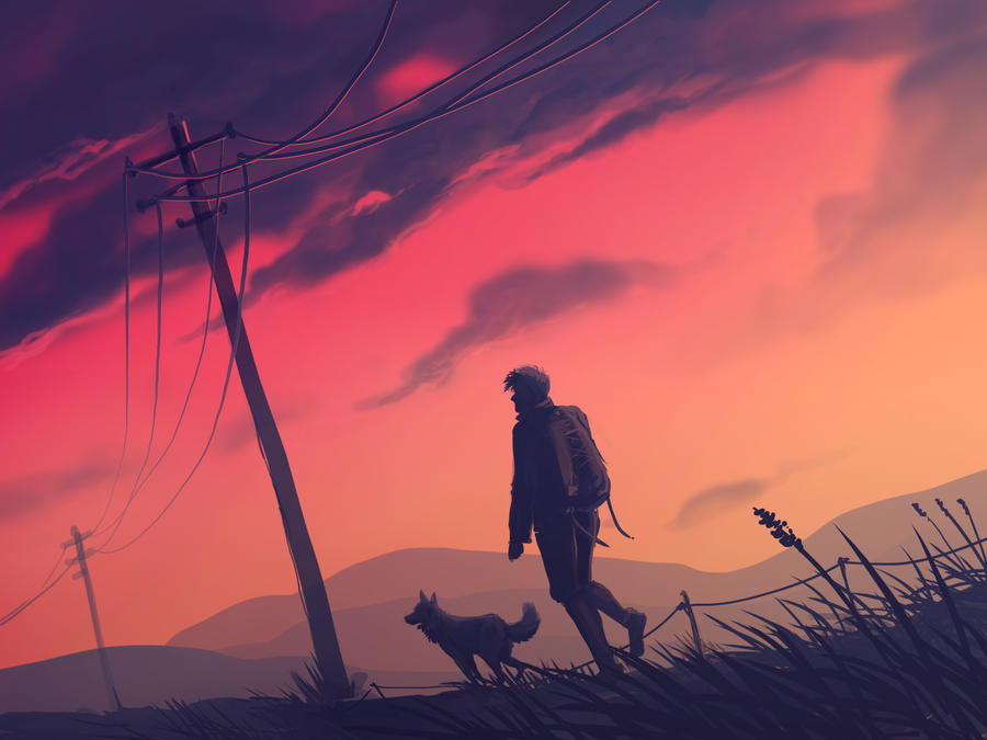 Don't look for me if I'm gone by AriaDog