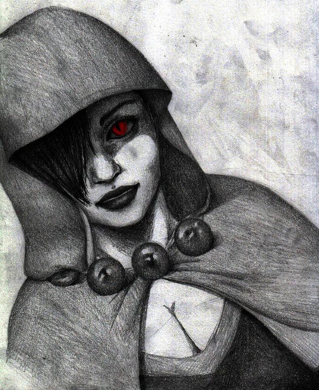 Her true face by queeniewolf