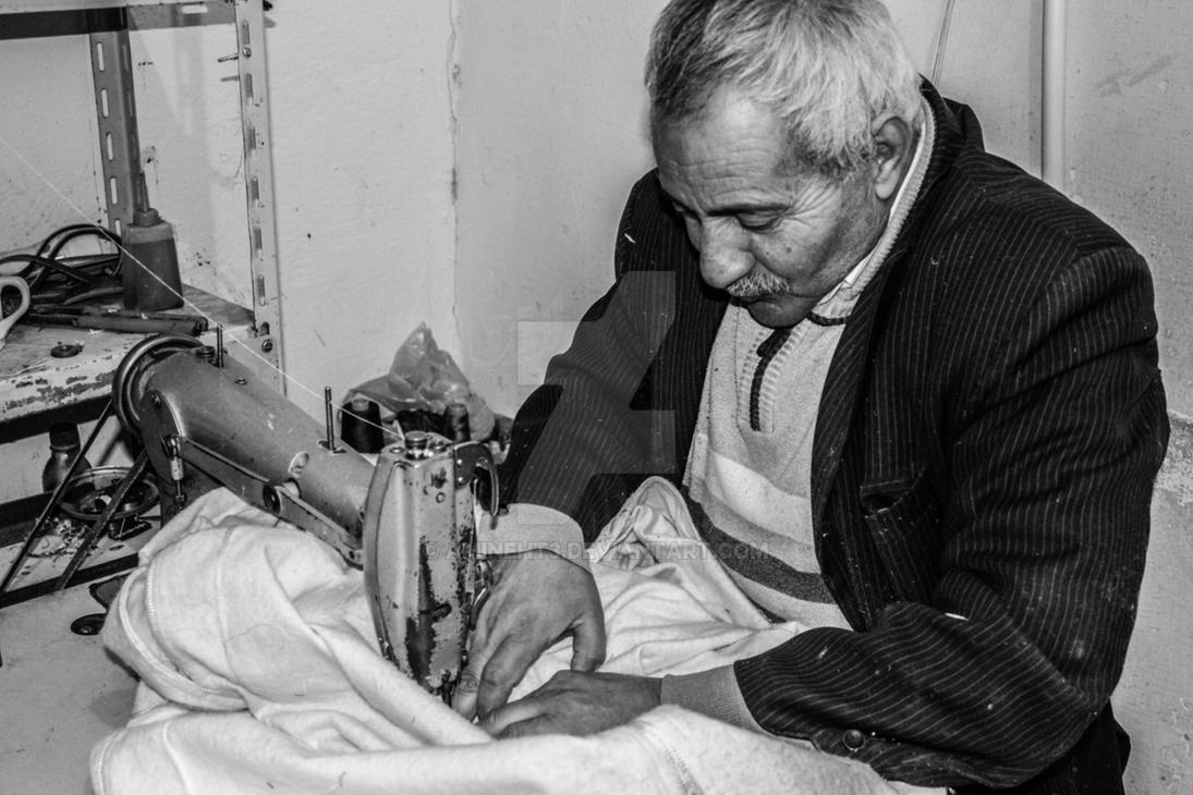 Tailor - the heritage of ancestors -HADJ DAHMAN by amineht3