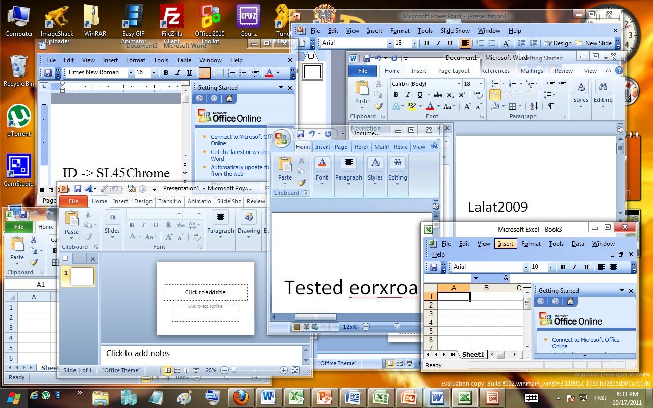 Microsoft office 2003 windows 8