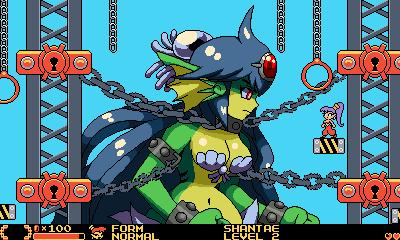 Mockup Shantae Half-Genie Hero in GBC Style by Eorxroa