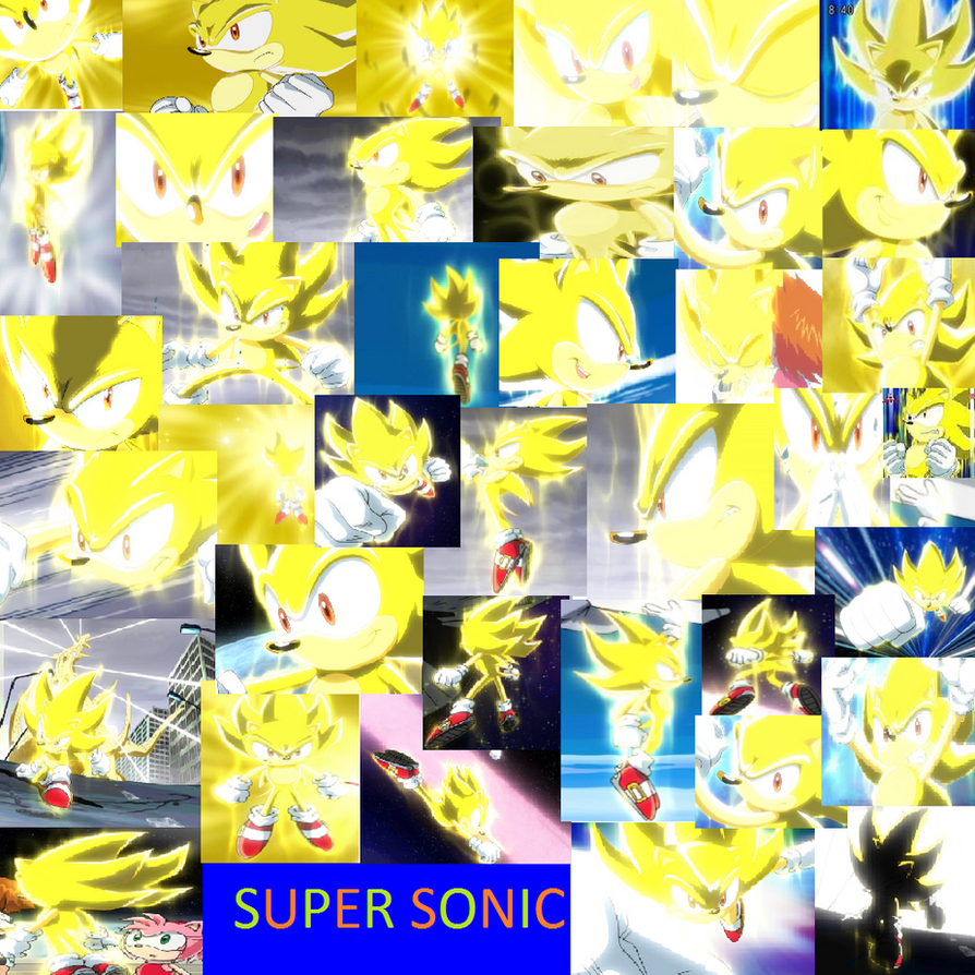 Super Sonic by PrincessEmerald7 on DeviantArt