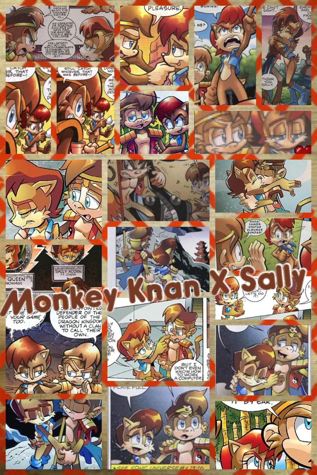 monkey khan x sally by princessemerald7 on deviantart