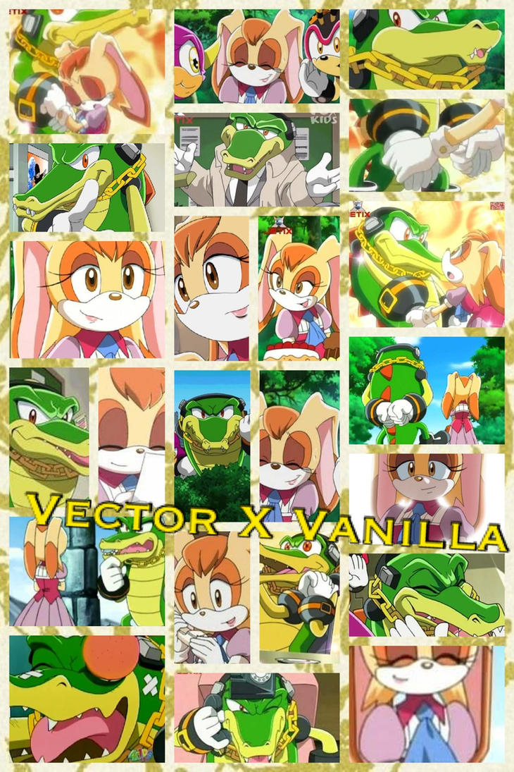 Vector And Vanilla VectorVanilla The Rabbit And Vector The Crocodile
