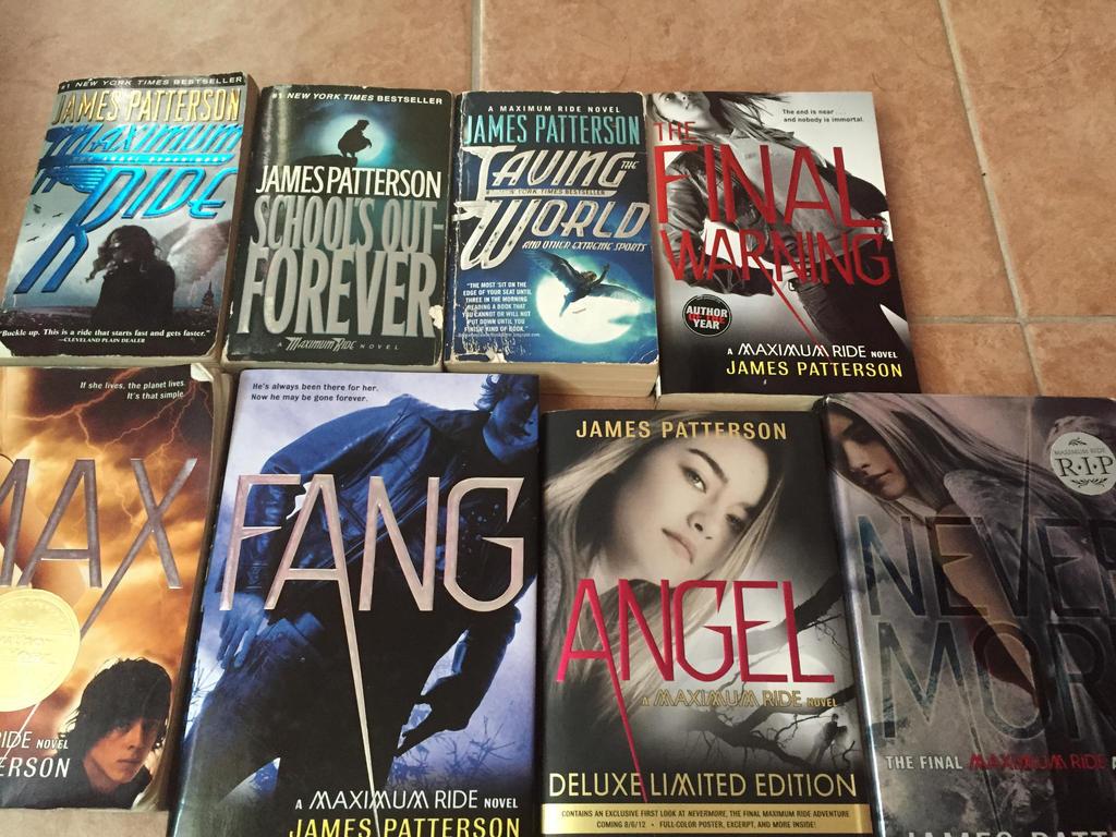 Amazoncom The Angel Experiment A Maximum Ride Novel Book 1 9780316067959 James Patterson Books