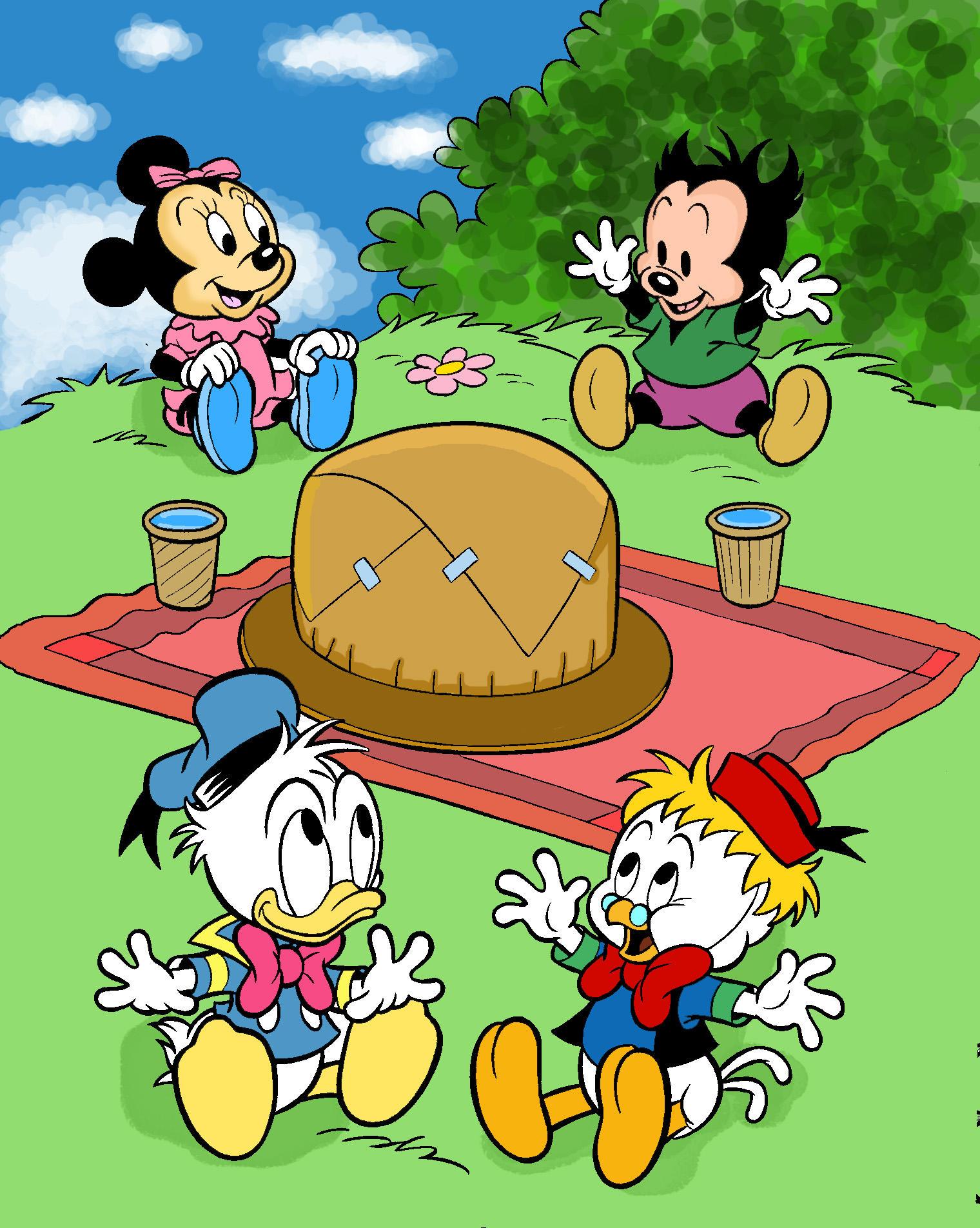 Projeto Turma do Mickey by vavo07