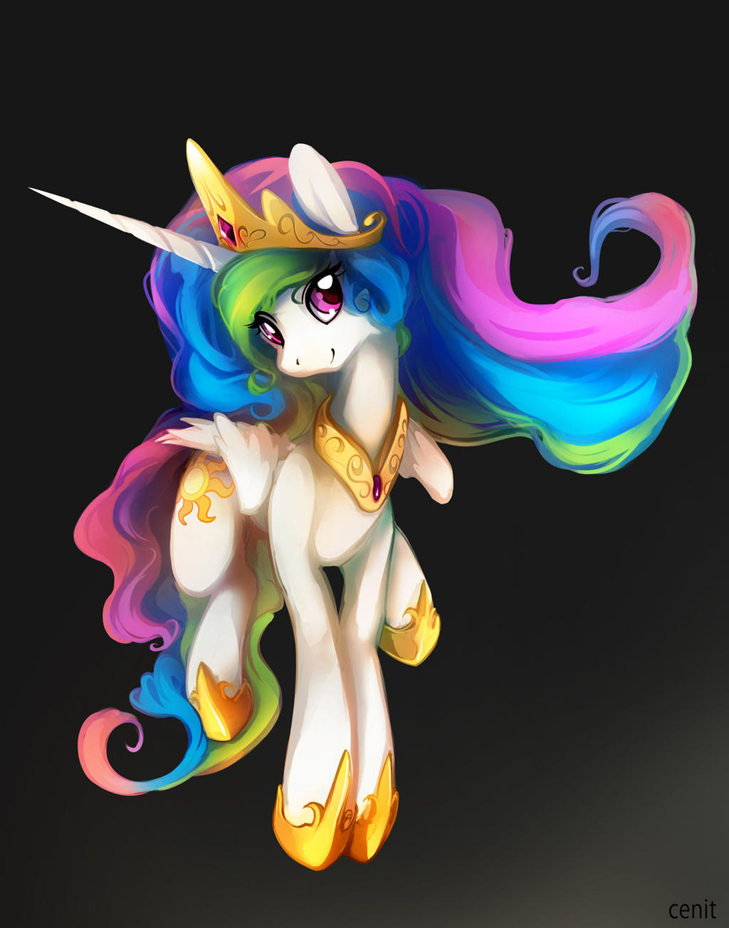 Celestia-Warm days by Cenit-v