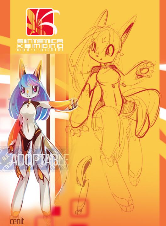 Adoptable - Sintetica Kemono 0001 by Cenit-v