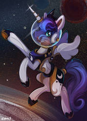 Astro Luna - Fanart by Cenit-v