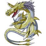 Metalseadramon (Toei official art - Remastered)