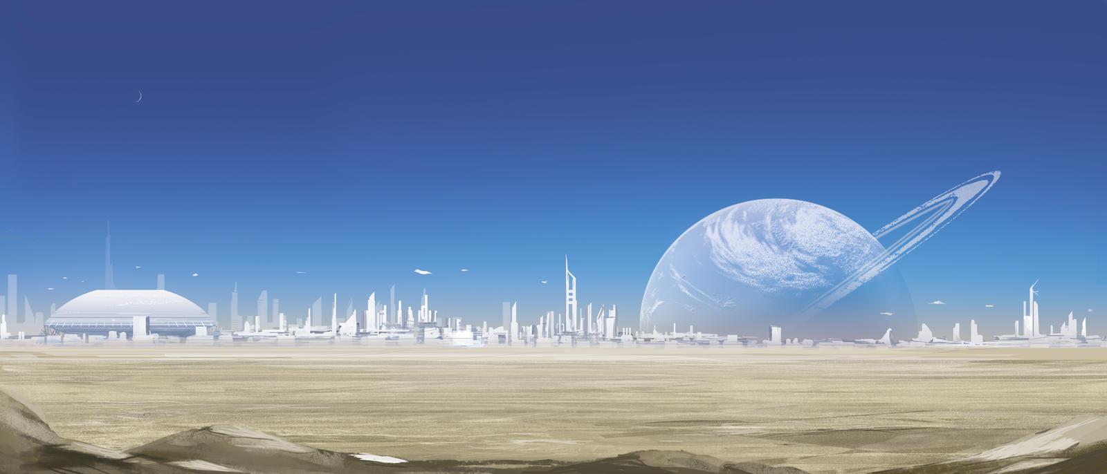 Desert Planet Landscape 10813 | RIMEDIA