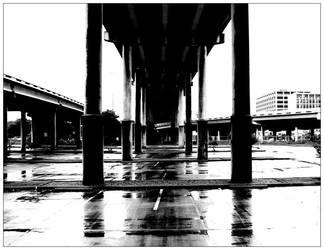 Underpass B and W by neolmas