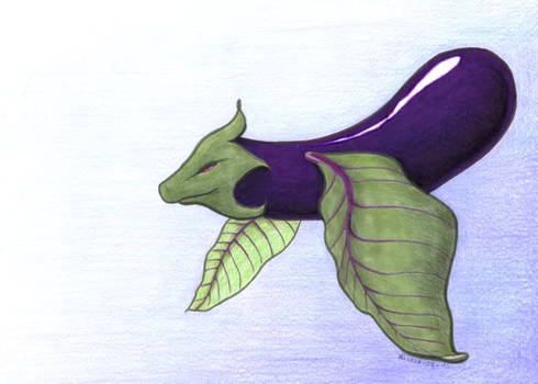Aubergine Dragon