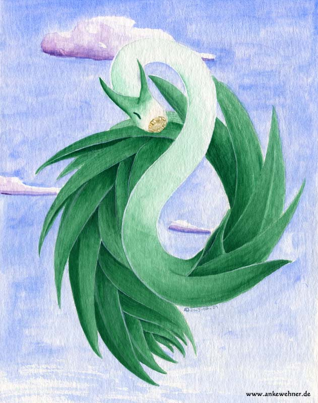 Leek Dragon by ankewehner