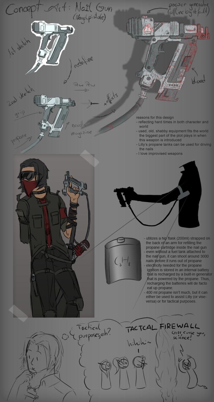 Concept nail gun by marikbentusi on deviantart concept nail gun by marikbentusi prinsesfo Images
