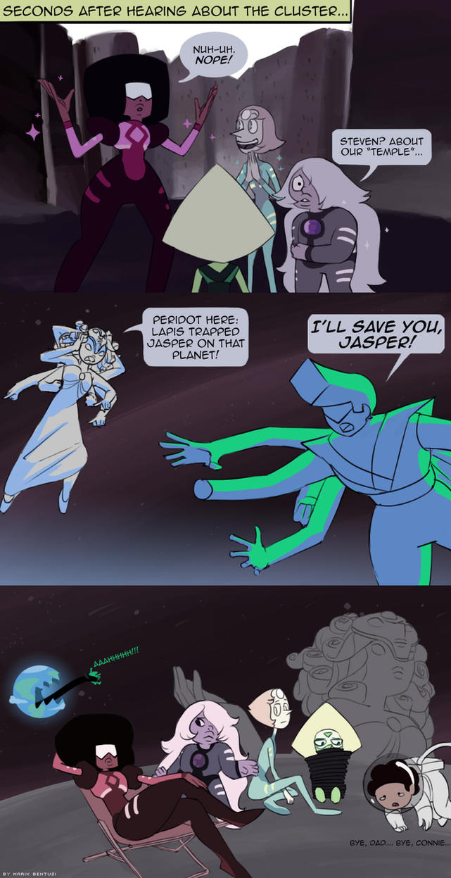 Steven Universe: All Humor Is Derived From Fear by MarikBentusi
