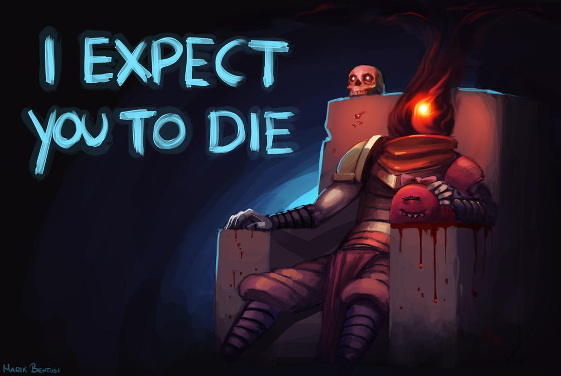 Dead Cells: I expect you to die by MarikBentusi