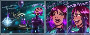 Warframe: Patient Gamer by MarikBentusi