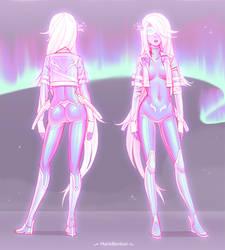 Ionized Scylle (with aurora)