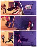 Dark Gwenpool Slices Through a Panel