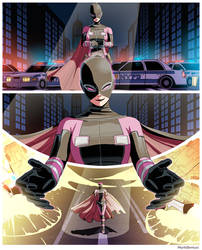 Evil Future Gwenpool Gets Out Of A Jam