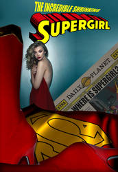 The Incredible Shrinking Supergirl by WayYellow