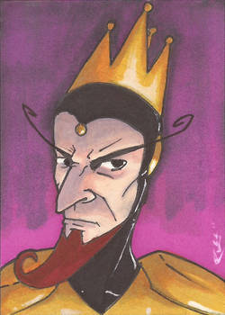 The Monarch Sketch Card