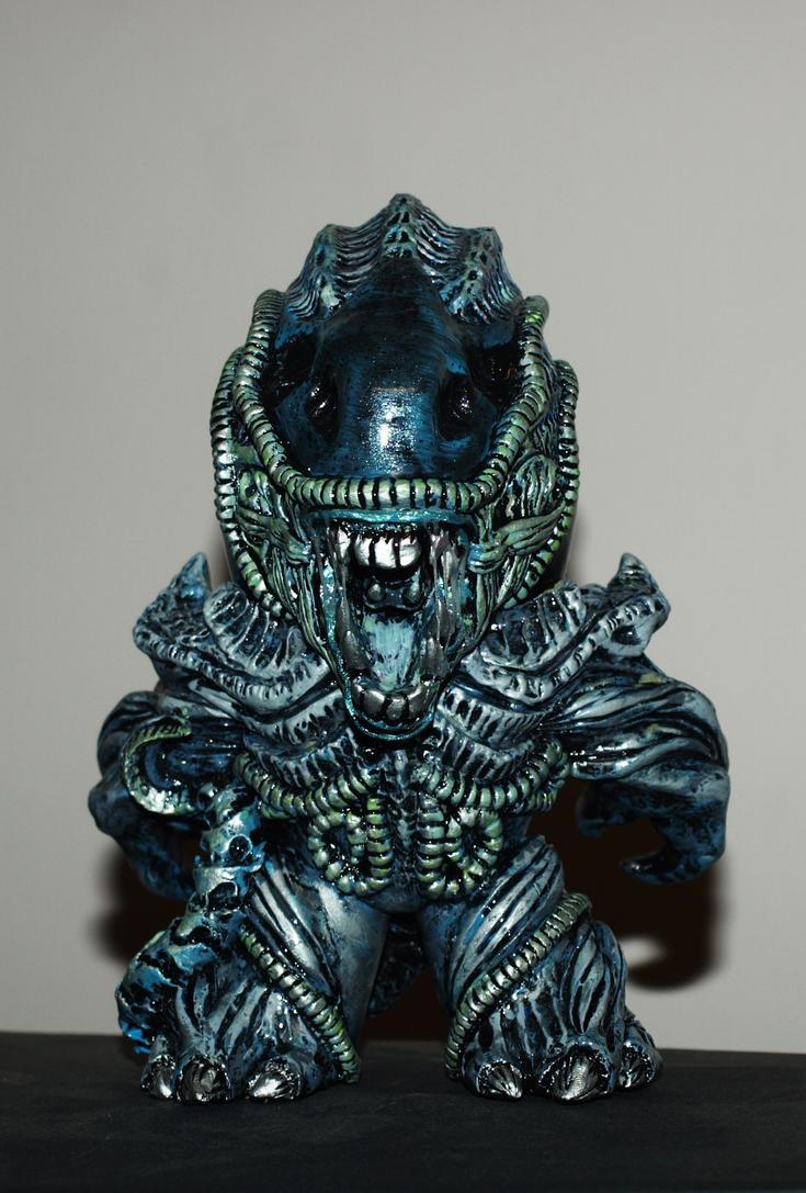 Custom alien xenomorph mighty mugg 4 by VILORIA-ARTS