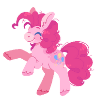 pinkie doodle by horsepaws