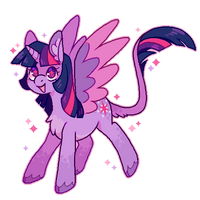 [februpony day 1] twilight by horsepaws