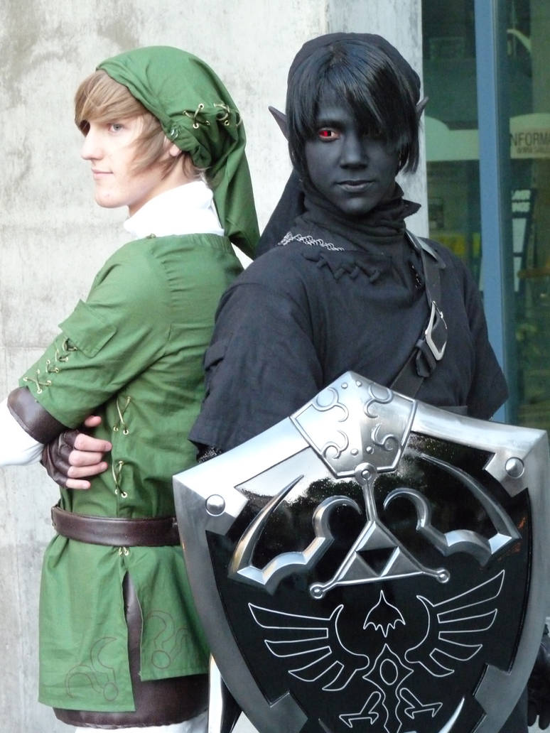 Link Shadow Link Fanime '10