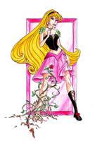 Disney princesses: Briar Rose by Whynotfly