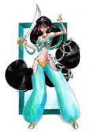 Disney Princesses: Jasmine by Whynotfly