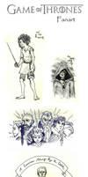 Game Of Thrones Doodles