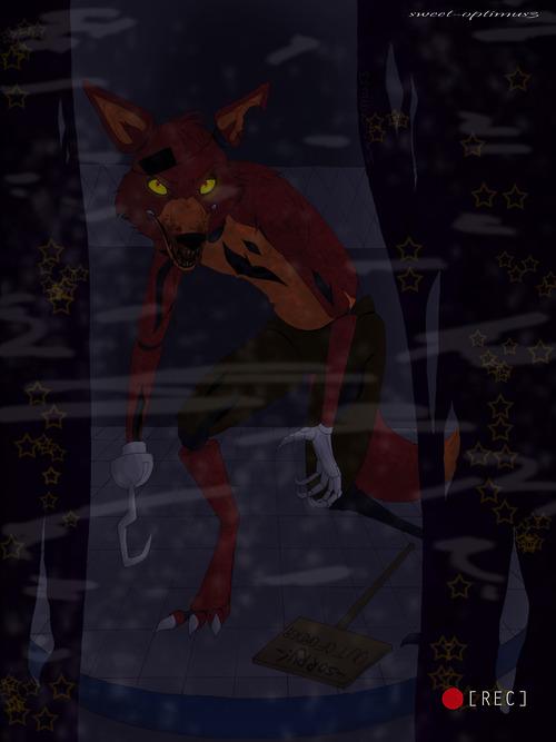 Fnaf foxy fnaf foxy colored by sweet