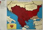 Serbian Empire in 1355.